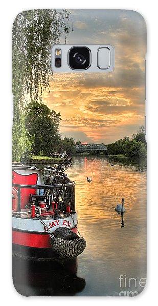 Swan Boats Galaxy Case - Amy Em by Martin Williams