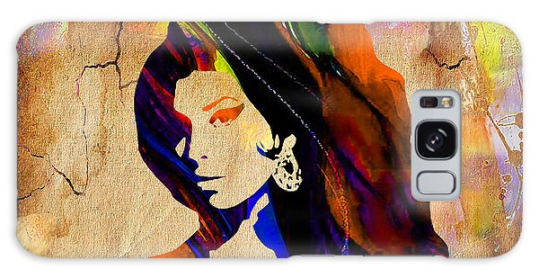 Amy Winehouse Galaxy Case by Marvin Blaine