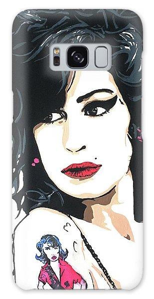 Amy Winehouse Part 2 Galaxy Case