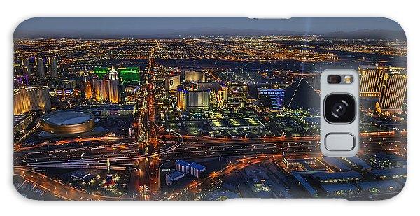 An Aerial View Of The Las Vegas Strip Galaxy Case