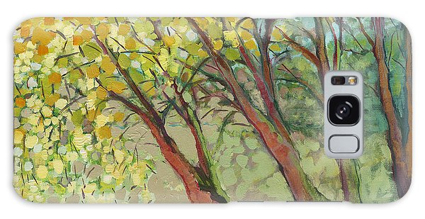 Impressionist Galaxy Case - An Afternoon At The Park by Jennifer Lommers
