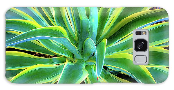 An Agave In Color  Galaxy Case