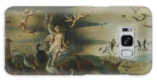 The Eagles Galaxy Case - An Allegory Of Air by Jan Brueghel the Elder