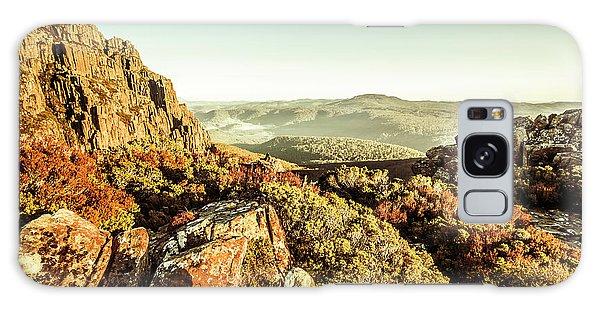 Shrub Galaxy Case - An Alpine Morning by Jorgo Photography - Wall Art Gallery