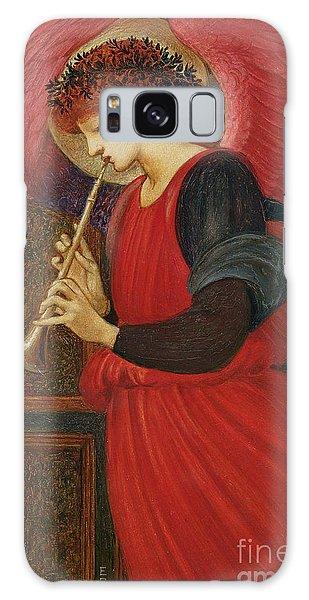 Holiday Galaxy Case - An Angel Playing A Flageolet by Sir Edward Burne-Jones