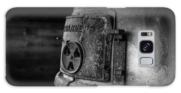 Galaxy Case featuring the photograph An Antique Stove by Doug Camara