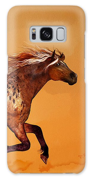 An Appaloosa Called Ginger Galaxy Case