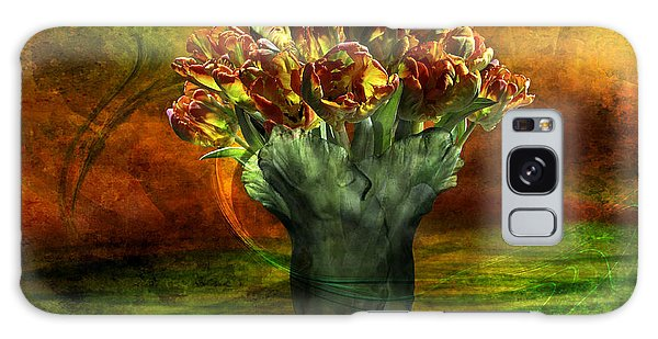 An Armful Of Tulips Galaxy Case by Johnny Hildingsson