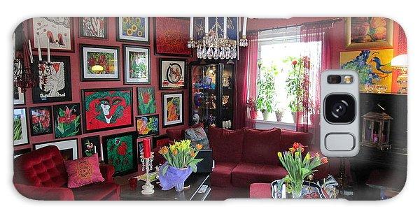 An Artists Livingroom Galaxy Case