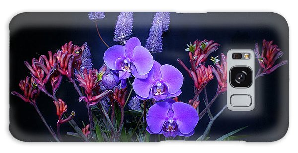 An Aussie Flower Arrangement Galaxy Case by Gary Crockett