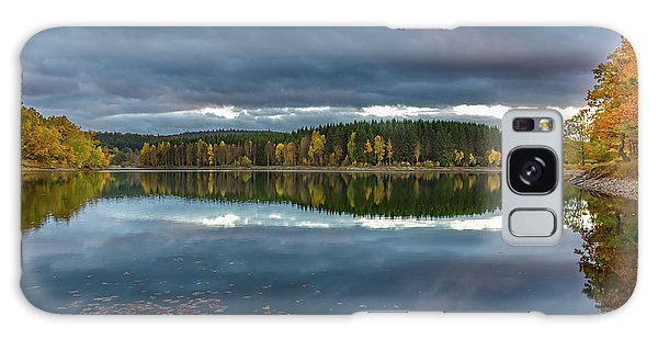 An Autumn Evening At The Lake Galaxy Case by Andreas Levi