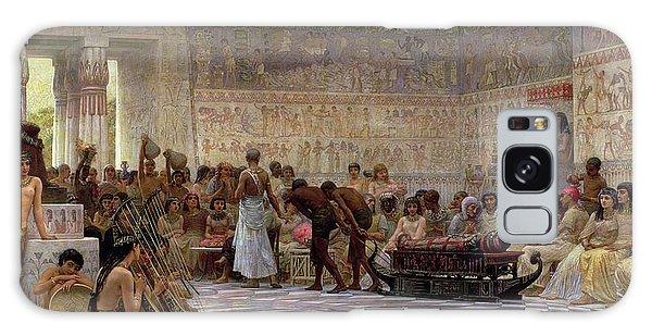 Egypt Galaxy Case - An Egyptian Feast by Edwin Longsden Long