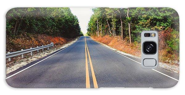 An Empty Road Galaxy Case