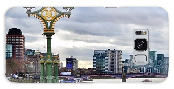 London Galaxy Case - An Empty Westminster Bridge • #london by Carlos Alkmin