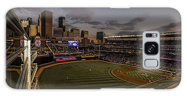 An Evening At Target Field Galaxy Case by Tom Gort