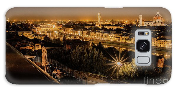 An Evening In Florence Galaxy Case