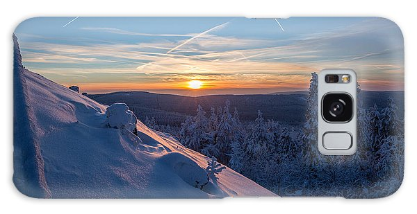 an evening on the Achtermann, Harz Galaxy Case by Andreas Levi