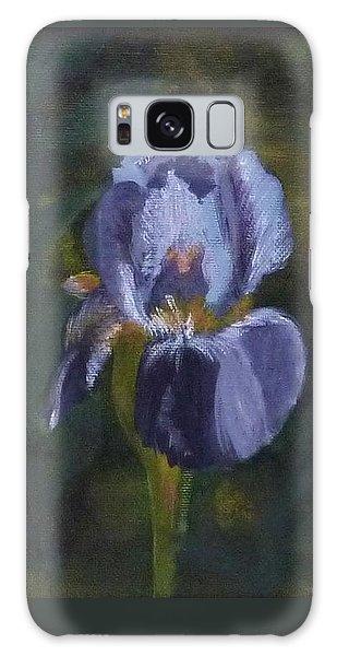 An Iris In My Garden Galaxy Case