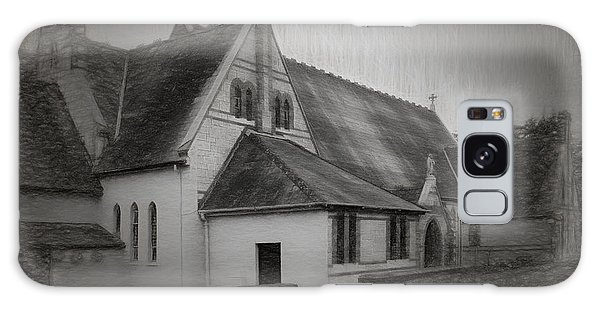 An Irish Church Galaxy Case by Dave Luebbert