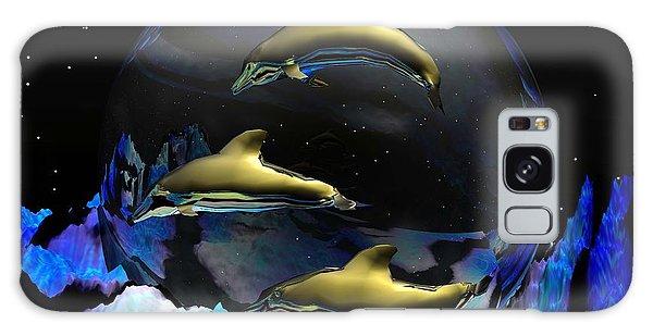 An Ocean Full Of Tears Galaxy Case by Robert Orinski
