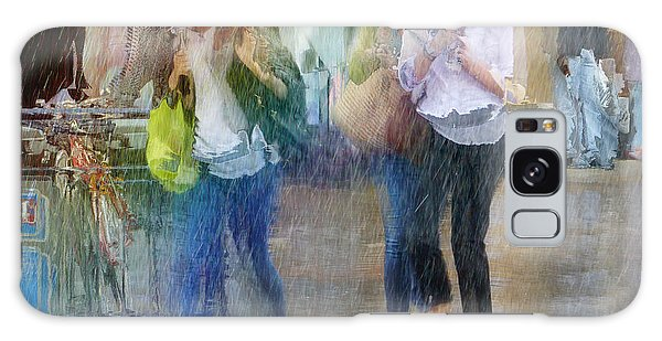 Galaxy Case featuring the photograph An Odd Sharp Shower by LemonArt Photography