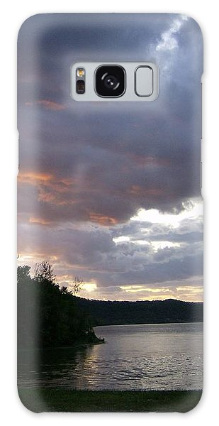 An Ohio River Valley Sunrise Galaxy Case