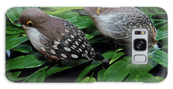 An Old Couple These Two Birds Galaxy Case