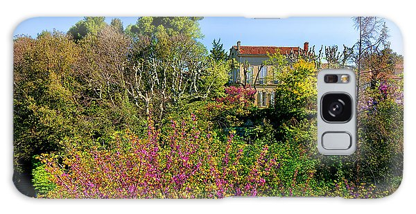 An Old House In Provence Galaxy Case by Olivier Le Queinec
