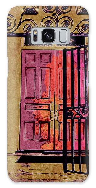 An Open Gate Galaxy Case by Joan Reese