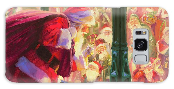 Galaxy Case featuring the painting An Unforeseen Encounter by Steve Henderson