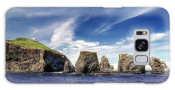 Channel Islands National Park - Anacapa Island Galaxy Case