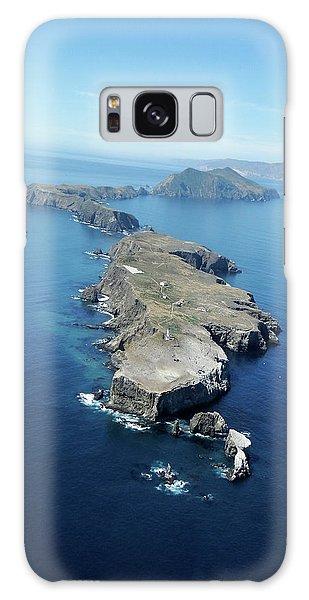 Anacapa Island Galaxy Case