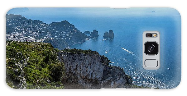 Anacapri On Isle Of Capri Galaxy Case