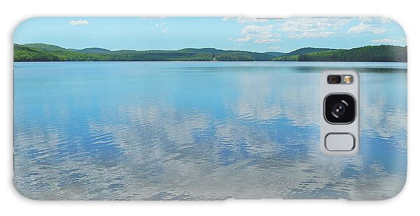 Anasagunticook Lake, Canton, Me, Usa 10 Galaxy Case by George Ramos