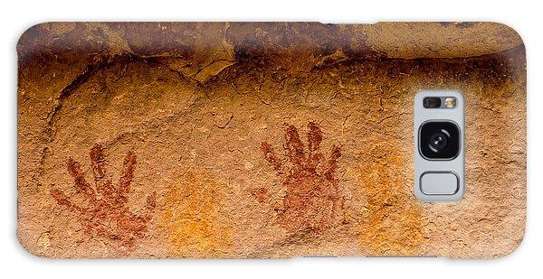 Anasazi Painted Handprints - Utah Galaxy Case