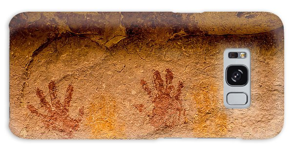Anasazi Painted Handprints - Utah Galaxy Case