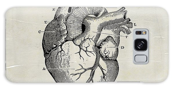 Anatomical Heart Medical Art Galaxy Case