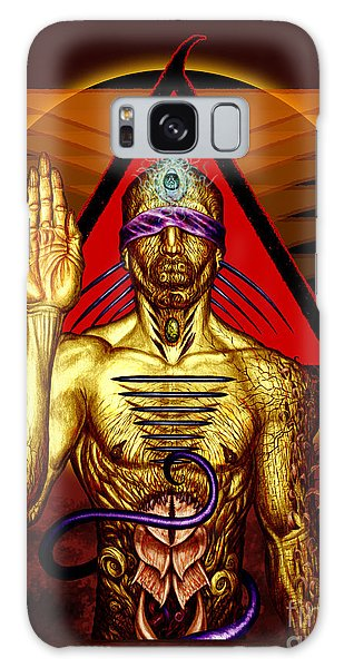 Ancestral Intuition Galaxy Case by Tony Koehl