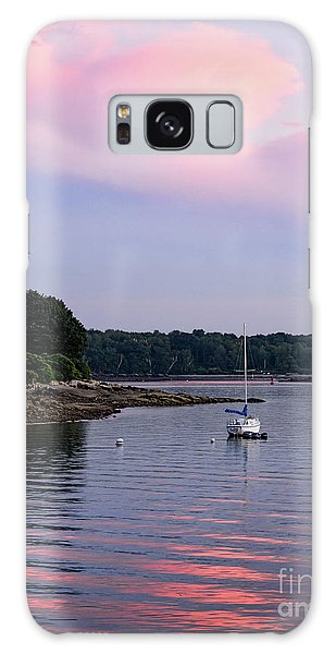 Anchored At Peaks Island, Maine  -07828 Galaxy Case