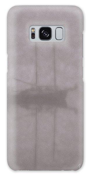 Anchored In Fog #1 Galaxy Case by Wally Hampton