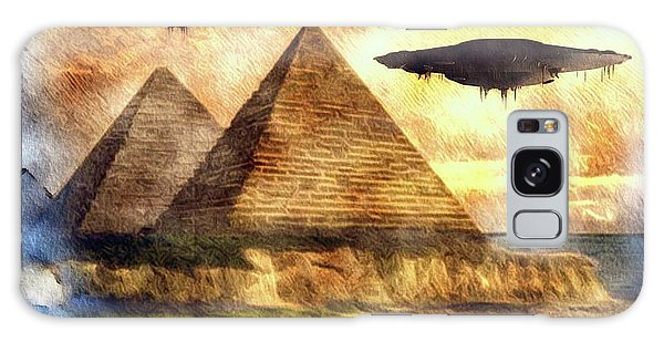Egypt Galaxy Case - Ancient Aliens And Ancient Egypt by Raphael Terra