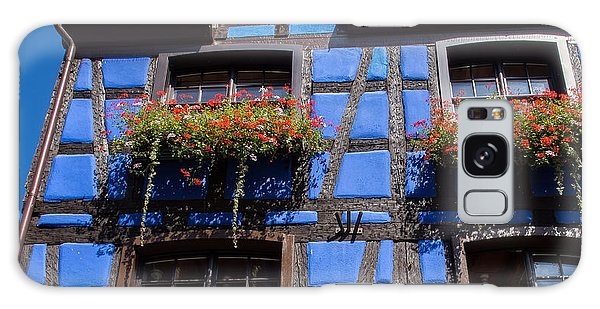 Ancient Alsace Auberge In Blue Galaxy Case