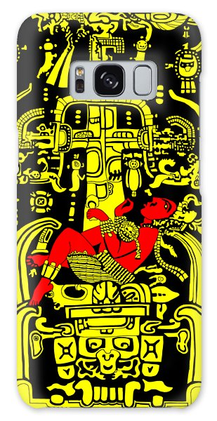 Ancient Astronaut Yellow And Red Version Galaxy Case