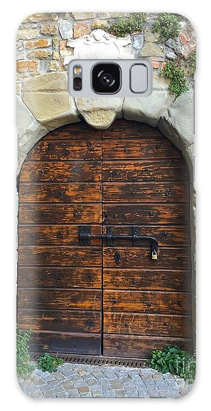 Ancient Castle Castel Door Trieste Galaxy Case