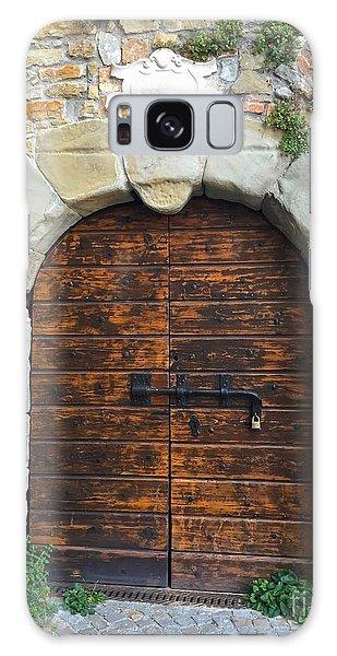 Ancient Castle Castel Door Trieste Galaxy Case