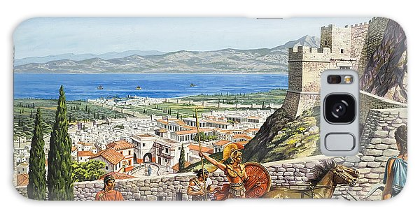 Wall Paper Galaxy Case - Ancient Corinth by Roger Payne