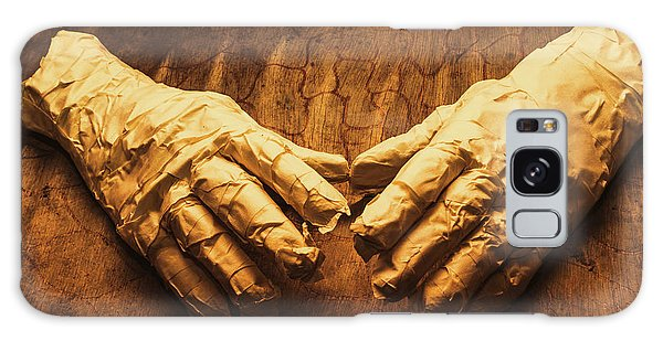 Wrap Galaxy Case - Ancient Egyptian Horror by Jorgo Photography - Wall Art Gallery