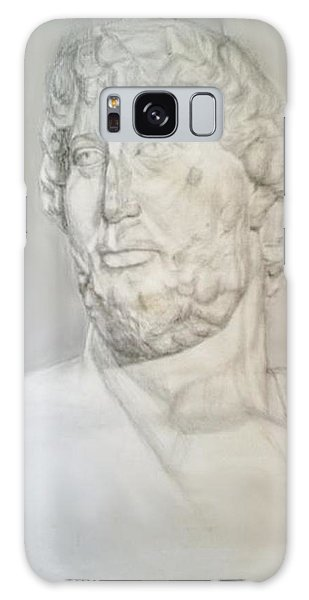 Ancient Greek Statue Galaxy Case