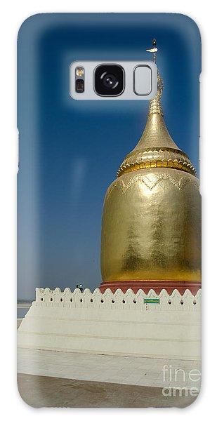 Ancient Riverside Stupa Along The Irrawaddy River In Burma Galaxy Case