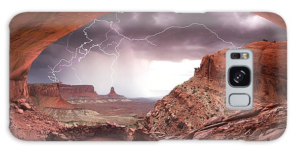 Islands In The Sky Galaxy Case - Ancient Storm by Dan Norris